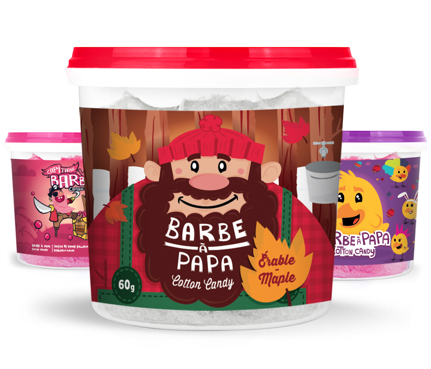Barbe papa imp rial snacking voyou performance cr ative - Barbe a papa personnage ...